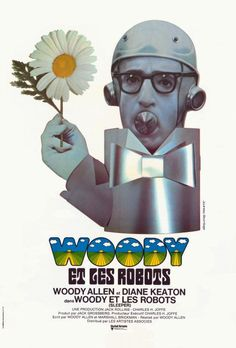 French poster for Woody Allen's 'Sleeper' (1973)