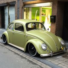 "VW Beetle - VW Kever  Perfect ""Green"" car  by tommy_jee http://ift.tt/1xpLANK"