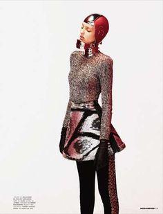 Futuristic Fashion Editorials