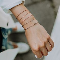Delicate and yet upbeat - like life itself, this combination of SPIRI . Fashion Colours, Colorful Fashion, Silver Bracelets, Delicate, Spirit, Jewelry, La Mode, Silver, Armband