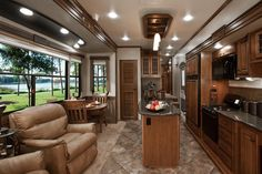No sure if I wanna live in a tenny tiny house first or a nice fifth wheel like this. I do know I wanna be in the woods!