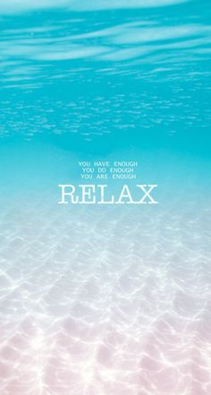 Relax...
