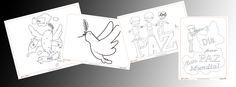 Día de la paz: Dibujos para colorear