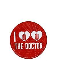 HOTTOPIC.COM - Doctor Who I (Heart Heart) The Doctor Car Magnet