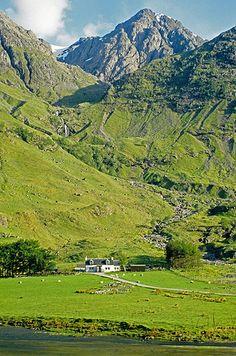 Bidean Nam Bian,  Glencoe,  Scotland | by David May