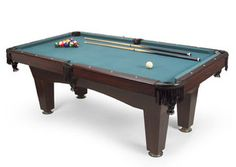 Pool table for the basement.