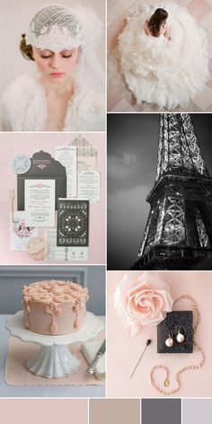 Parisian Chic Wedding inspiration