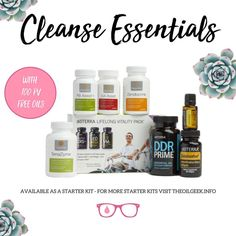 Babes - these are the products we'll begin using next week after we've prepped ourselves properly! Do you have these products yet? Slim And Sassy, Starter Kit, Doterra, Cleanse, Personal Care, Products, Self Care, Personal Hygiene, Gadget