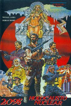 Warriors of the Apocalypse 80s Movie Posters, Horror Posters, Cinema Posters, Movie Poster Art, Post Apocalyptic Movies, Post Apocalyptic Costume, Creepy Movies, Horror Movies, Inspirational Movies