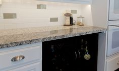 Image Result For Glazed Subway Tile Backsplash With Glass Accents