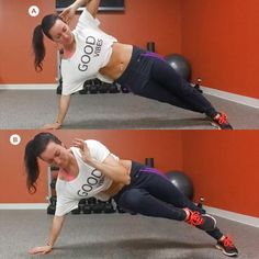 Oblique Exercise: Side Plank with Contralateral Knee Tuck