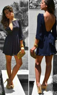 Backless dress, why can't I find these in real life?