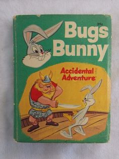 Whitman Big Little Book: Bugs Bunny: Accidental Adventure, 1969. Cool Vtg book!
