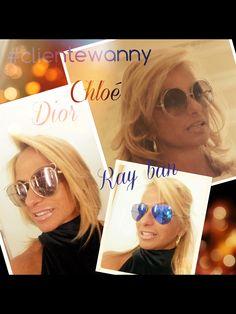 Mais uma cliente compartilhando suas escolhas nas #oticaswanny #shoppingabc Nós amamos!!!! #soniaazua #oculos #top #fashion #chic #Dior #rayban #chloe #clientewanny #abc #oticaswanny