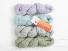 A luxe combination of fiber types, the exclusive Artyarns Alpaca Merino Blend is ideal for your projects that need the perfect balance of structure and softness. Made from 50% baby suri alpaca and 50% merino wool, this worsted-weight yarn comes in generous skeins of 285 yards (100g) and four lovely pastel colors.