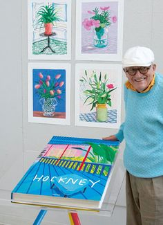 David Hockney has created A Bigger Book (It's Nice That article