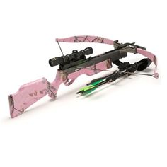 Excalibur Crossbow PINK CAMO VIXEN 2 at the Canadian Sporting Arms and Ammunition Association Show C. The Excalibur Cross bow booth has just that specialty item for the huntress in your family. The New Pink [.