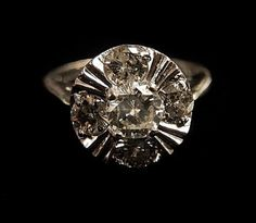 DIAMOND RING by HPSJEWELERS on Etsy