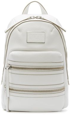 Marc By Marc Jacobs ivory leather backpack  I know what I want for my birthday!