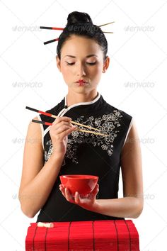 chinese girl and oriental food ...  alone, asian, background, beautiful, beauty, black, cheerful, chinese, chopstick, cuisine, culture, cute, dinner, eat, ethnic, exotic, fashion, female, food, girl, happy, holding, japanese, lady, lifestyle, lips, lunch, model, mouth, nutrition, oriental, people, person, portrait, pretty, red, seductive, sensual, sitting, smile, studio, sushi, symbol, thai, traditional, vegetarian, white, woman, young