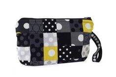 Pieced Polka Dot Pouch | AllPeopleQuilt.com free pattern/tutorial
