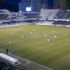 Photo taken at Estadio Municipal Castalia by Iván B. on 1/13/2013