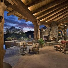 Log Cabin Exterior Design, Pictures, Remodel, Decor and Ideas - page 9
