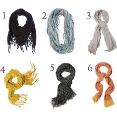 For the love of...scarves!