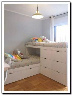 Gorgeous 36 Elegant Small Kids Room Design Ideas With Smart Saving Space. Girl Room, Girls Bedroom, Bedroom Decor, Couple Bedroom, Bedroom Ideas, Master Bedroom, Bunk Bed Designs, Dressing Room Design, Stylish Bedroom