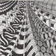 Tangle dreams - More doodle ideas - Zentangle - doodle - doodling - zentangle patterns. zentangle inspired - #zentangle #doodling #zentanglepatterns