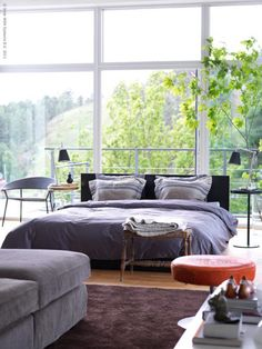 Love this bedroom but might be kinda of hard since I sleep days and work nights.