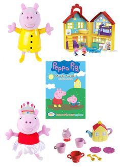 Peppa Pig products available at Toys 'R Us.