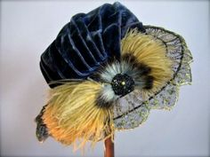 Gorgeous hat and other beautiful vintage garments
