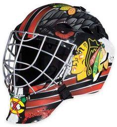 NHL Chicago Blackhawks GFM 1500 Youth Street Hockey Face Mask.afflink