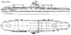 Aircraft carriers - SHINANO