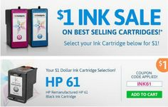 If you print a lot of Printable Coupons you know the cost of Ink and Paper can add up fast! Luckily there are ways to save on Printer Paper and on Ink! Right now you can get Discount Ink Cartridges from 123InkJets.com!