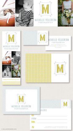 Branding / Deluxemodern Design  #Logo #Branding #Photography