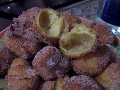 Frittelle vuote - Ricetta di sophia per kucinare.it Muffin, Beef, Breakfast, Desserts, Switzerland, Food, Recipes, Cream, Bead