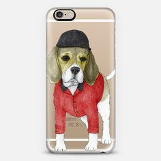 Beagle (transparent); Iphone case design by Barruf get $10 off using code: S29WXC Available for samsung