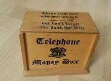 Nearly every household with a phone had one of these. But then not every household had phones!