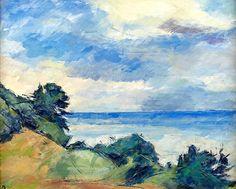 ZUHR, Hugo (1895-1971)/ Coastal Motif