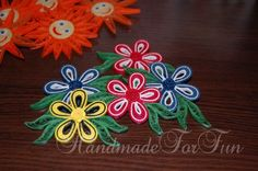 FunQuilling: refrigerator magnets