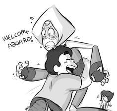 """Peridot's like, """"it's touching me"""""""