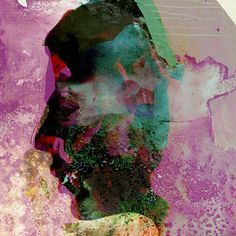 "Saatchi Online Artist: eva christin laszka; Paper 2011 Painting ""Fluid"""
