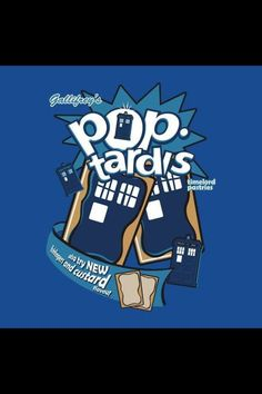Doctor Who pop tarts!