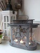 Image of Zinc Ornate Lantern