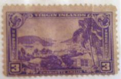 Virgin Islands _US Postage Stamp _ 3 cent