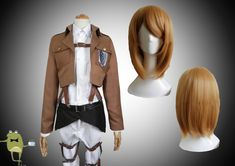 Attack on Titan Petra Ral Cosplay Costume + Wig   Free Shipping Attack on Titan Survey Corps Petra Ral Cosplay Costume and Cosplay Wig online, tailored Shingeki no Kyojin Special Operations Squad Petra Ral Cosplay Costume sales in www.cosplayfield.com!: reference only