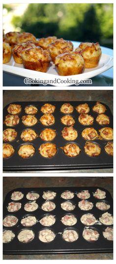Pepperoni Pizza Puffs Recipe