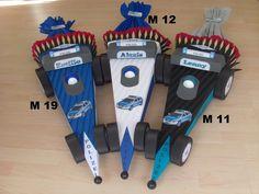 Schultüten - Schultüte Rennauto,Rennwagen,Polizei,Formel 1 - ein Designerstück von Jeanetts_Creativ_Stube bei DaWanda